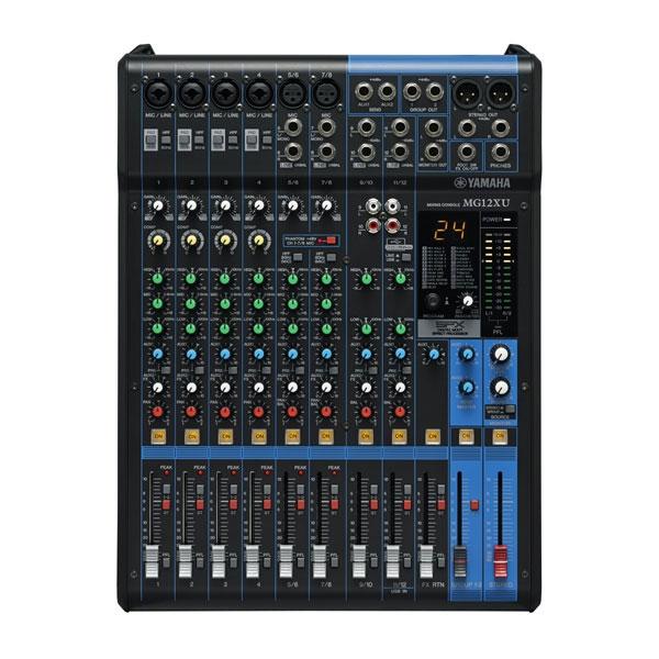 Yamaha - [MG12XU] Mixer 12 canali con effetti e USB