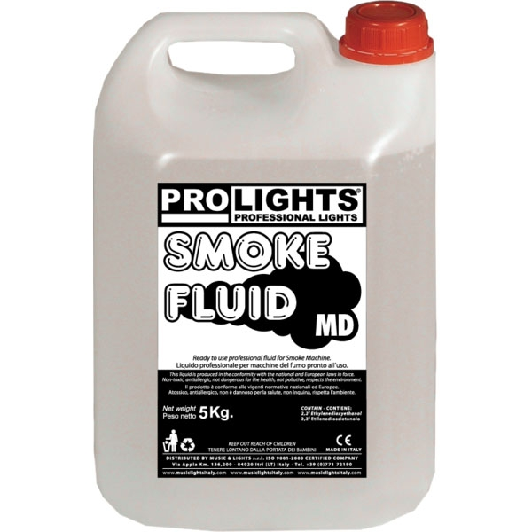 Prolights - [SMOKEFLUIDMD] Liquido per macchina effetto fumo 5 Kg.