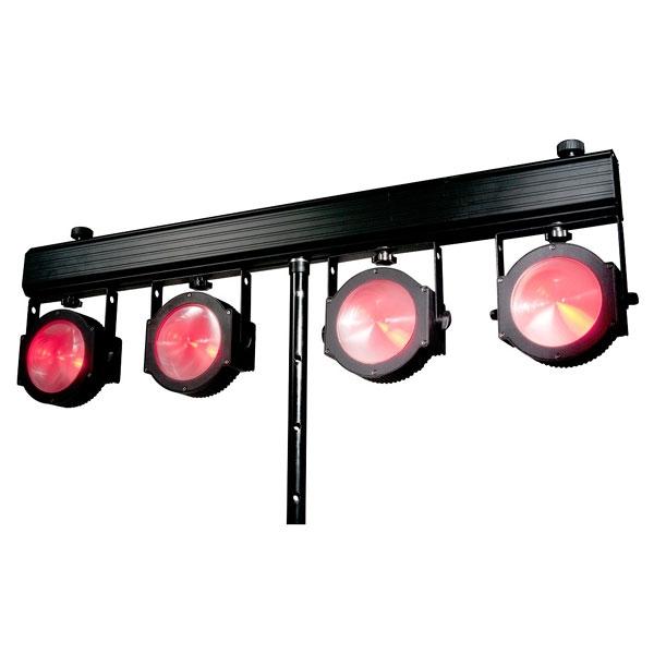 American DJ - [DOTZ TPAR SYSTEM] Set di cambiacolori LED Plug'n'Play