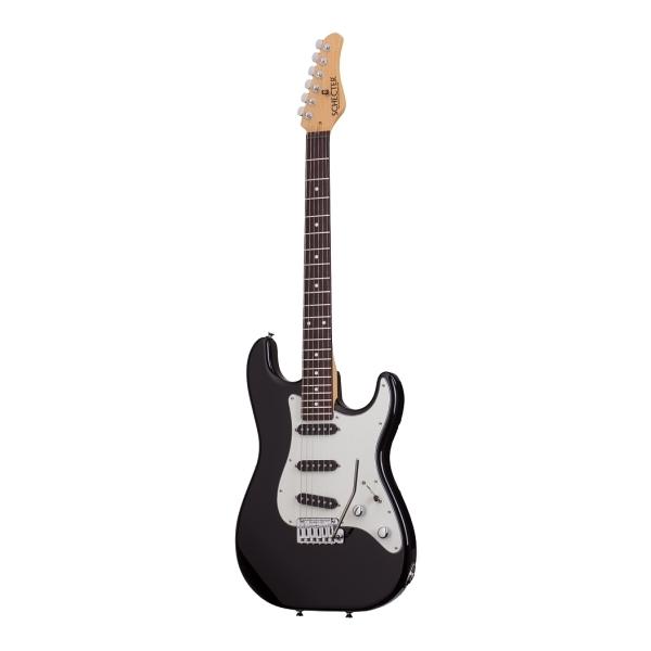 Schecter - [TRAD-SSS-AL-R] TRADITIONAL SSS R - chitarra elettrica - Rw - Black