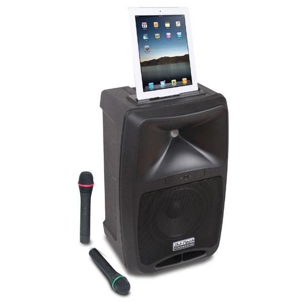 DJ-Tech - [IVISA500BT] Sistema di amplificazione portatile 80W