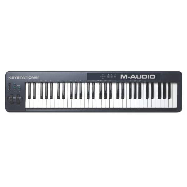 M-Audio - KEYSTATION 61 (2ND-Gen) - Master Keyboard Midi/Usb