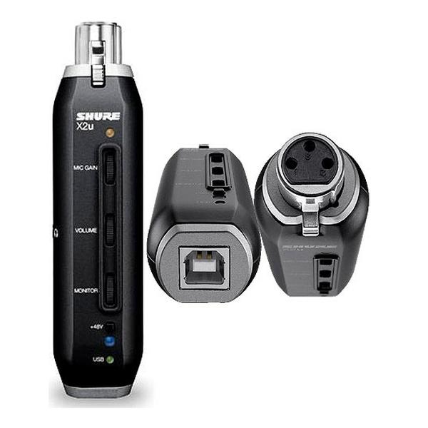 Shure - [X2U] Interfaccia Usb x microfoni - convertitore Adc