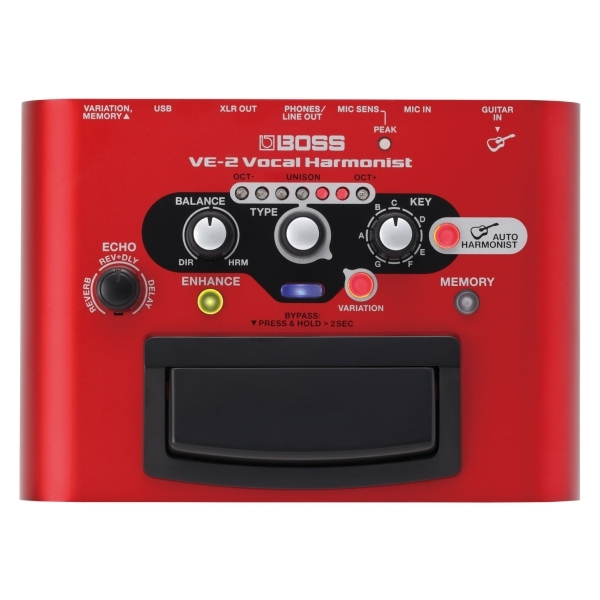 Boss - [VE2] Vocal Harmonist - stompbox