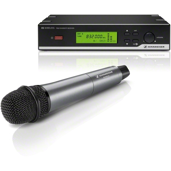 Sennheiser - [XSW 35-A] Sistema completo radiomicrofono x voce