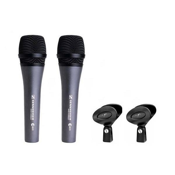 Sennheiser - [E KIT2] Set pack microfoni 2x  E 835