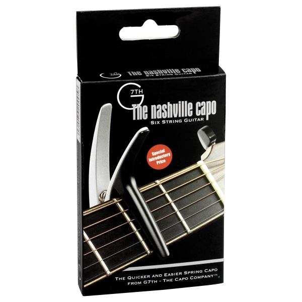 G7TH - NASHVILLE - Capotasto x chitarra acustica - Silver