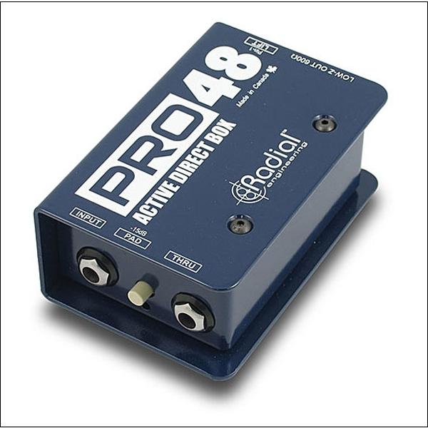Radial - PRO 48 - Direct Box attiva