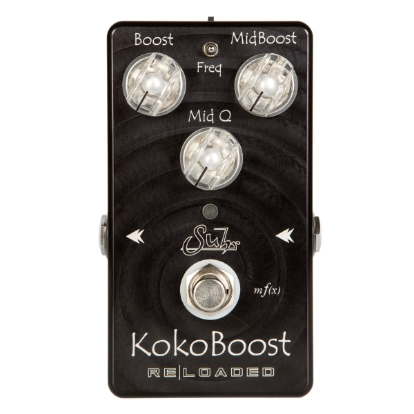 Suhr - KOKO BOOST - RELOADED / pedale boost x chitarra