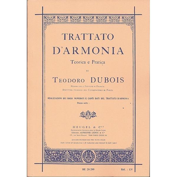 Alphonse Leduc - [9790047282996] DUBOIS T. - Trattato d'armonia teoria e pratica