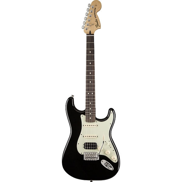 Fender - Mexican Deluxe - [0145030306] Lone Star Stratocaster Black Rosewood