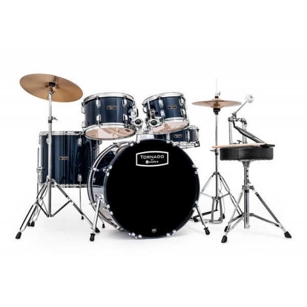 Mapex - Tornado - [TND5044TC YB] Batteria Fusion - Royal Blue