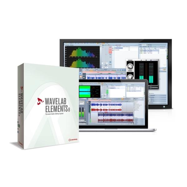 Steinberg - WAVELAB ELEMENTS 8 (Retail) - Software x audio