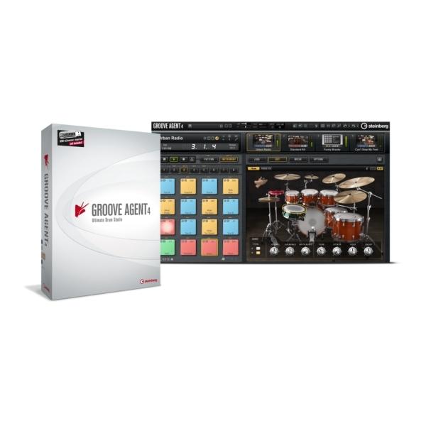 Steinberg - GROOVE AGENT 4 - Drum Workstation
