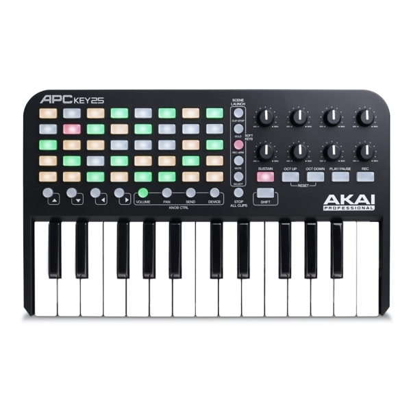 Akai - [APC KEY 25] Controller Midi x Ableton Live
