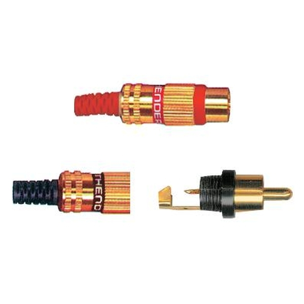 Thender - [50-201] Connettore jack - rca