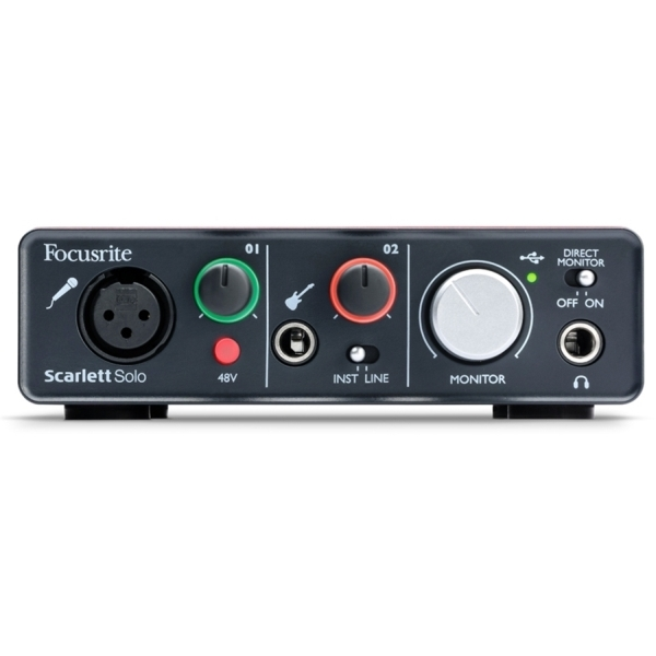 Focusrite - SCARLETT SOLO - interfaccia audio usb