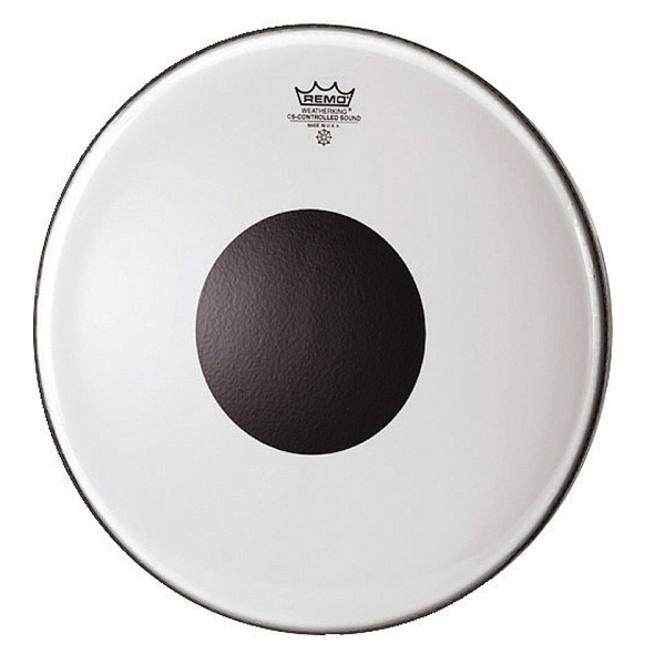 "Remo - Controlled Sound - [CS-0313-10]  Pelle 13"" x tom Clear"