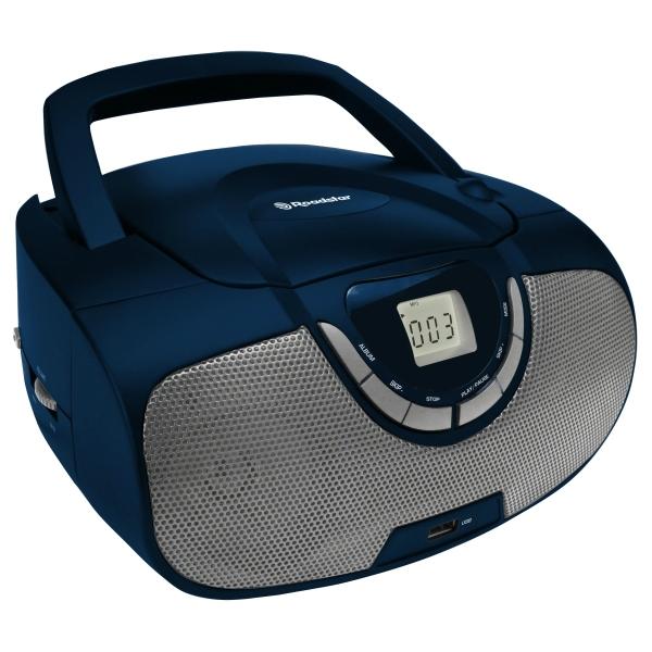 Roadstar - [CDR4550U] Radio portatile CD/MP3-USB-AM/FM - Blu