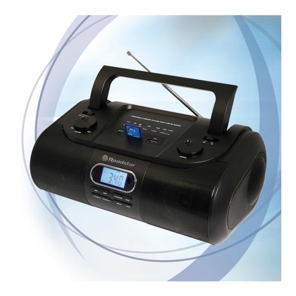 Roadstar - [RU295] Radio portatile AM/FM - Usb / Sd card