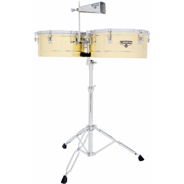 "Lp Latin Percussion - [M257B] Timbales Matador in ottone -14 /15"""
