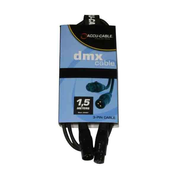 Accu-Cable - [AC-DMX3/1,5] Cavo dmx 1,5 mt.