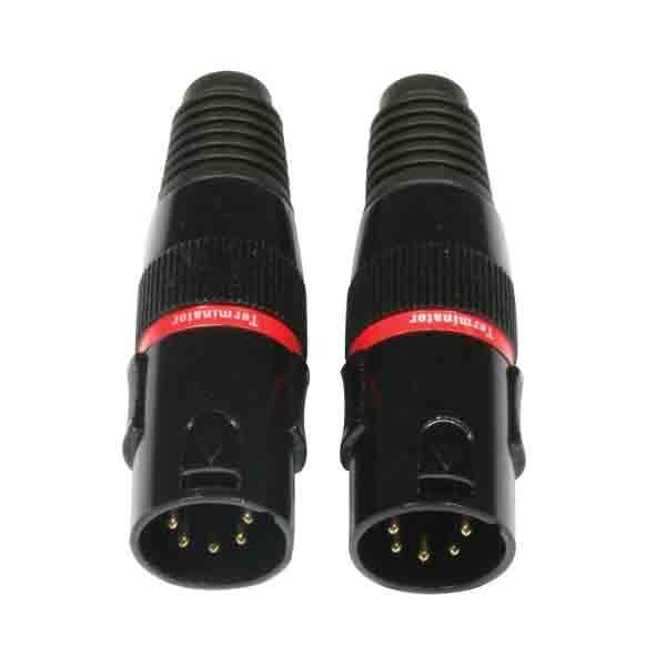 Accu-Cable - [AC-DMXTERM-5/SET] DMX terminator 5 poli
