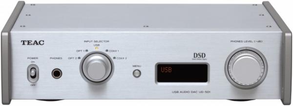 Teac - [UD501]  Usb Audio D/A Converter Argento