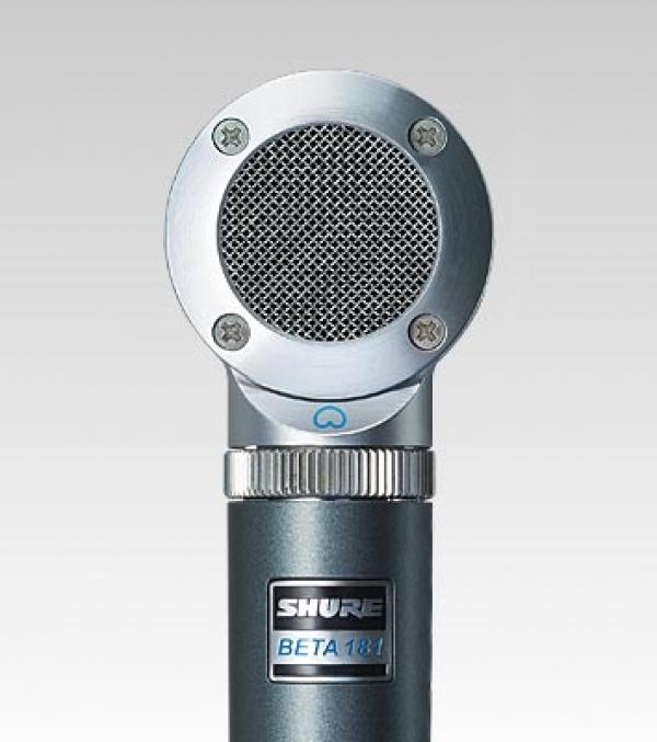 Shure - [BETA181C] Microfono per strumenti condenser