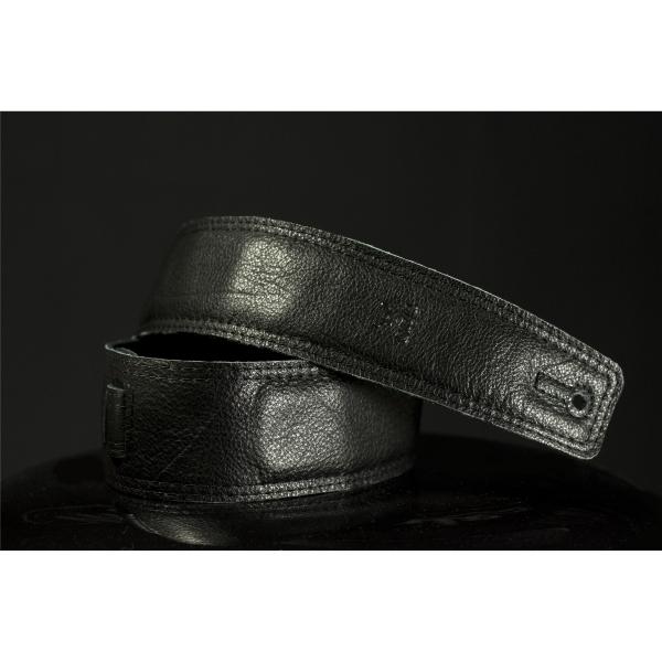 Bull - BULL Tracolla in pelle per chitarra Nero 407175