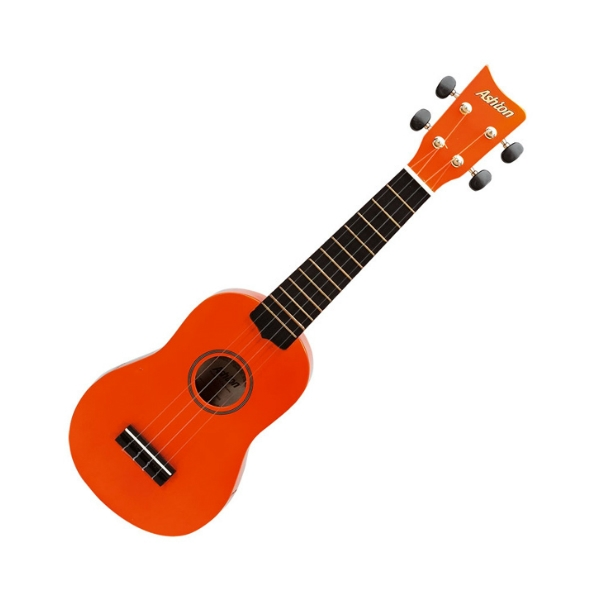 Ashton - [UKE100 NG] Ukulele Orange con borsa