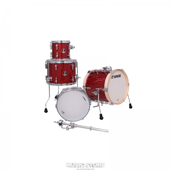 Sonor - [SSE 14] Batteria completa Martini Red Galaxy Sparkle