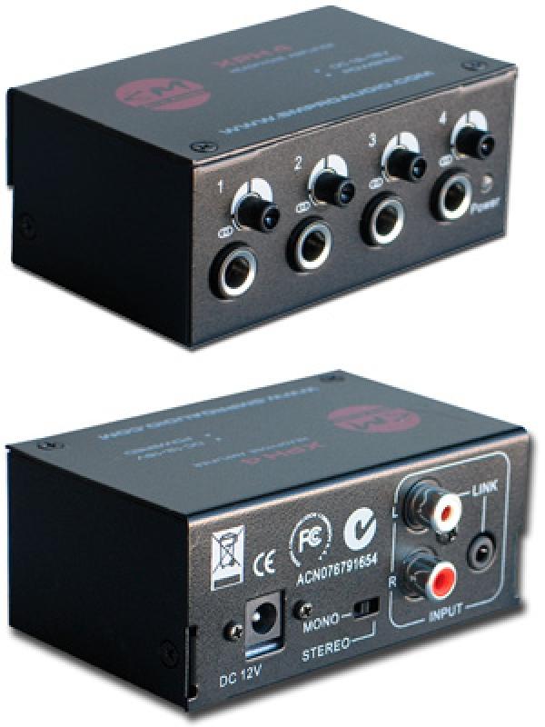 SM Pro Audio - [XPH4] Amplificatore Cuffie 4 uscite