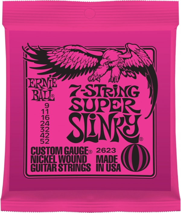 Ernie Ball - [2623] Muta Super Slinky 7 09-52