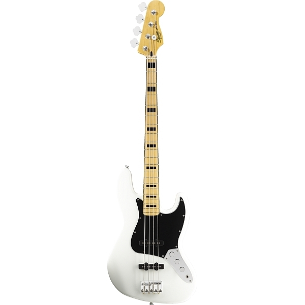 Fender - Squier Vintage Modified - [0306702505] Jazz Bass 70'S Olympic White Maple