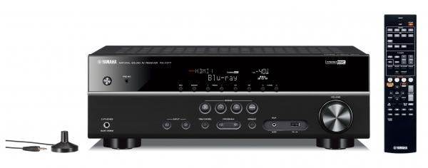 Yamaha - [RX-V377] Av Receiver Black