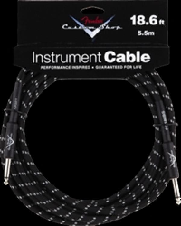 Fender - [0990820037] Custom Shop 18.6 Inst Cable Black