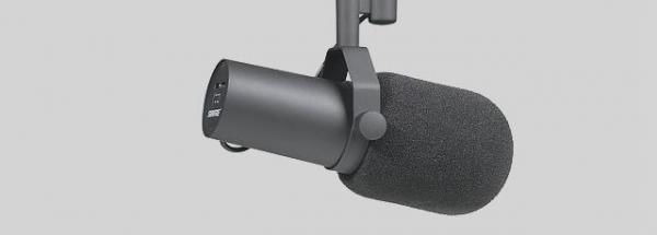 Shure - [SM 7B] Microfono Dinamico Cardioide Multiuso