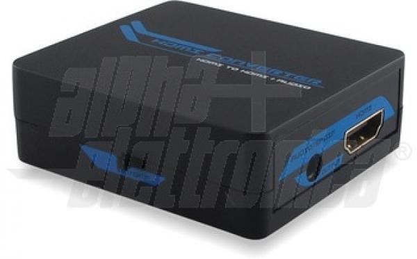Alpha Elettronica - [CT406/6] Convertitore HDMI-HDMI + Audio Convertitorre Stereo/SPDIF