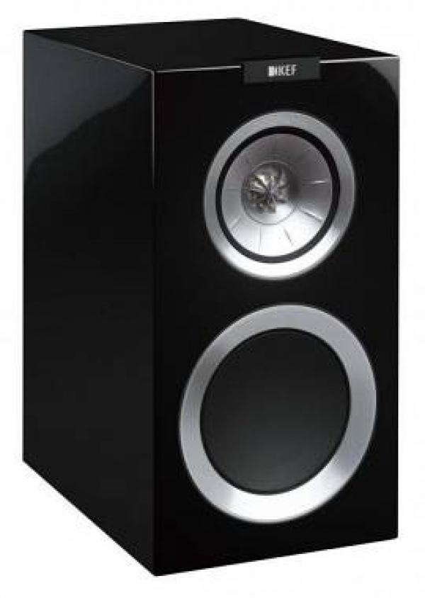 KEF - [R300] Diffusore nero da scaffale a 3 vie