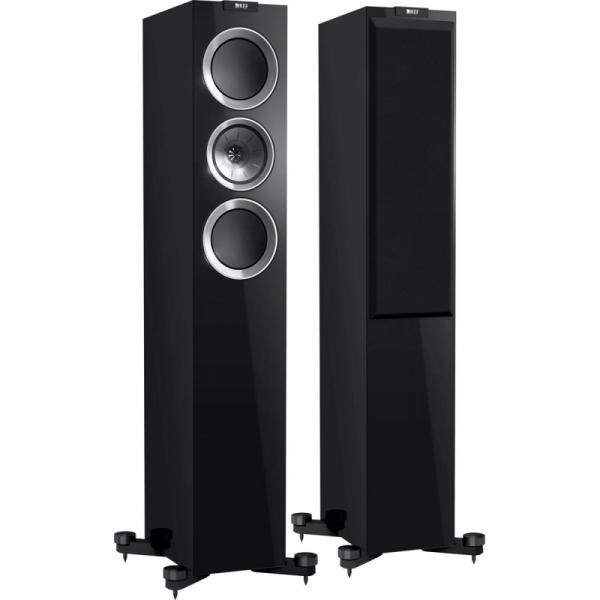 KEF - [R500] Diffusore Black da pavimento a 3 Vie