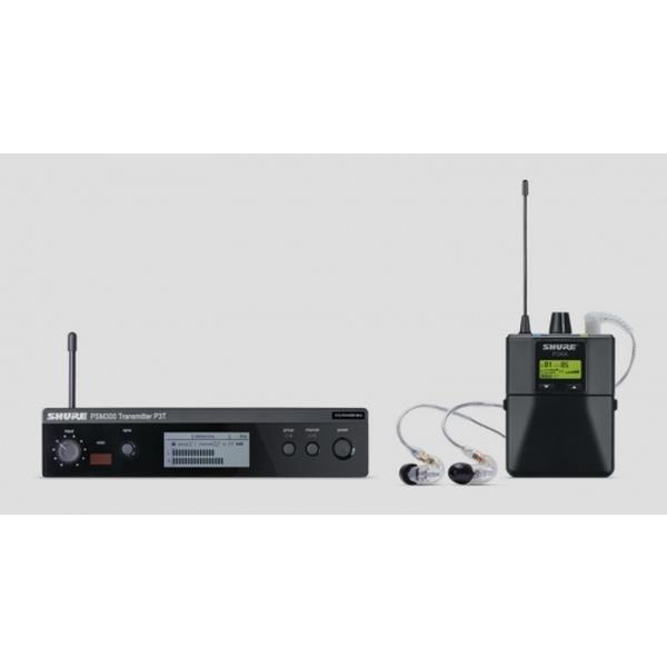 Shure - Sistema in-ear monitor PSM300 Banda K3E