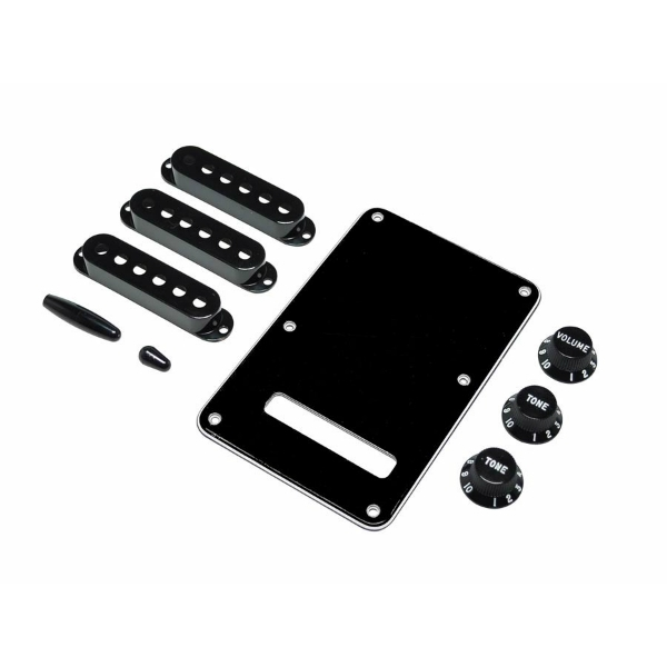 Fender - [0991363000] Kit accessori x Stratocaster - Nero