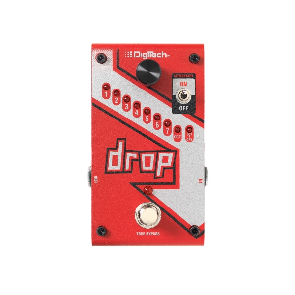 "Digitech - ""The Drop"" Pedale tune per chitarra"