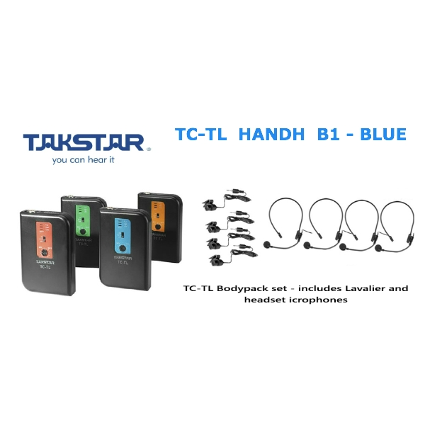 Takstar - [TC-TD HANDH] B1 Trasmettitore Wireless BLU - 189.50 MHZ