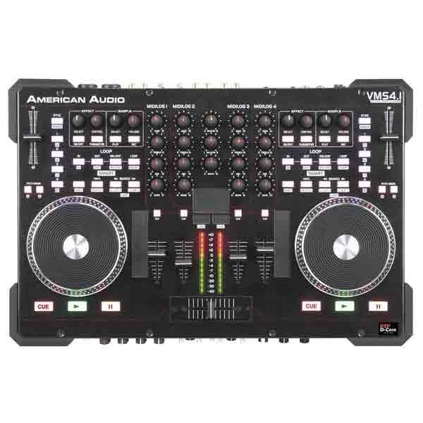 American Audio - [VMS4.1]  Controller per DJ con mixer 4 canali