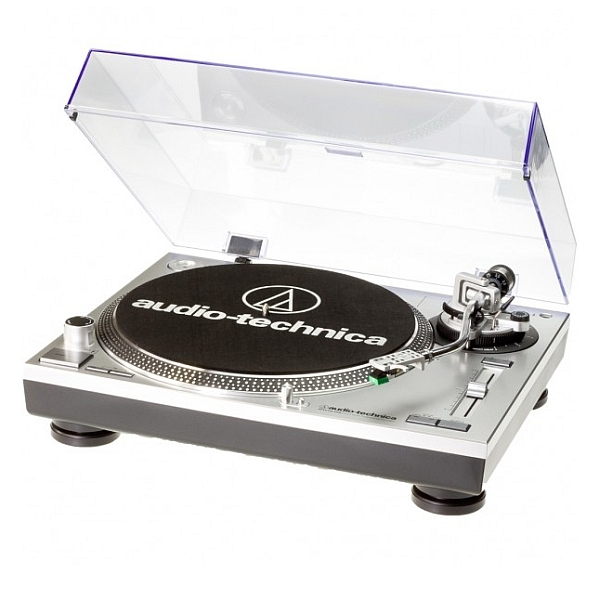 Audio Technica - [AT-LP120-USB HC] GIRADISCHI PROFESSIONALE USB - SILVER