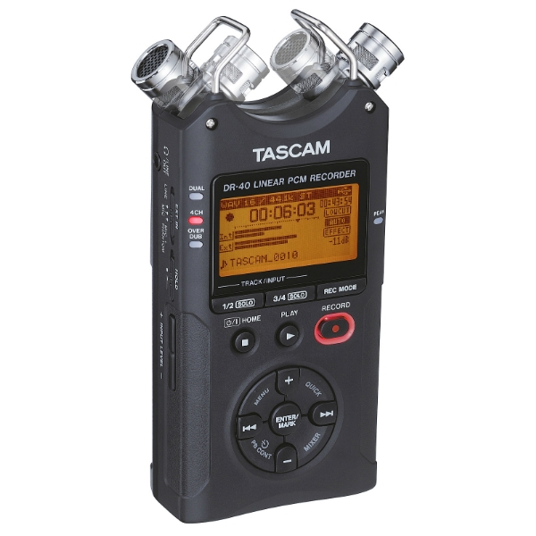 Tascam - [DR 40 Ver 2] Registratore Pcm/Mp3