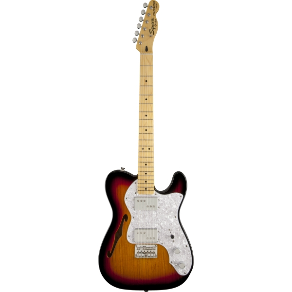 Fender - [0301280500] Squier Vintage Modified 72 THINLINE TELE - Mn / 3TS