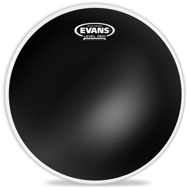 """Evans - [JDTT16CHR] Pelle x tom/ timpano """"16"""" Black Chrome"""